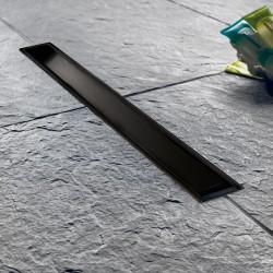 ΚΑΝΑΛΙ ΔΑΠΕΔΟΥ ΝΤΟΥΣ 50 cm WIRQUIN VENICIO SLIM BLACK MATT