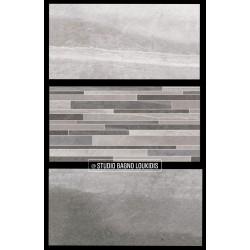 ΠΛΑΚΑΚΙ 30x60 ΔΑΠΕΔΟΥ-ΜΠΑΝΙΟΥ COLORADO L.GREY/D.GREY