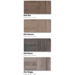 ΠΛΑΚΑΚΙ 30x60 ΔΑΠΕΔΟΥ  τυπου ξυλο FLOT bosco / grigio / nut / rovere