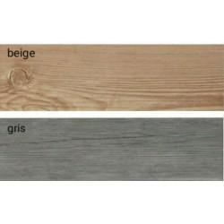 ΠΛΑΚΑΚΙ 19X57 ΔΑΠΕΔΟΥ ΤΥΠΟΥ ΞΥΛΟ IBIZA  σε 2 αποχρωσεις beige/gris
