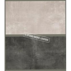 ΠΛΑΚΑΚΙ 33x60 ΔΑΠΕΔΟΥ-ΜΠΑΝΙOY MΟΝΤ BLANC gris / negro