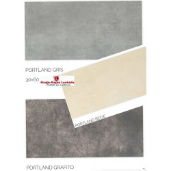 ΠΛΑΚΑΚΙ 30x60 ΔΑΠΕΔΟΥ - ΜΠΑΝΙΟΥ PORTLAND  σε 3 αποχρωσεις perla/gris/grafito