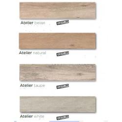 ΠΛΑΚΑΚΙ 15,3x58,9  & 23,3x120  ΔΑΠΕΔΟΥ ΤΥΠΟΥ ΞΥΛΟ ATELIER σε 4 αποχρωσεις beige/natural/taupe/white