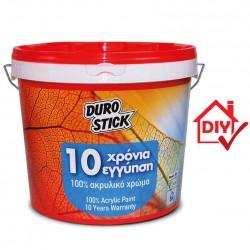ΧΡΩΜΑ 10 ΧΡΟΝΙΑ ΕΓΓΥΗΣΗ ΑΚΡΥΛΙΚΟ DURO STICK 1KG / 5 KG / 15 KG