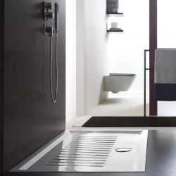 Nτουσιέρα 100 x 80 x 6 παραλληλoγραμμη  πορσελανη  SLIM    G.S.I.   ITALY
